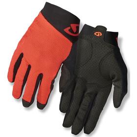 Giro Rivet II Gloves Men vermillion/black